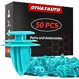 OTUAYAUTO 50PCS for Toyota Trim Door Panel Clips Trim Panel Retainer for Tacoma, Tundra, Camry, Corolla, Avalon, Sienna, Repl