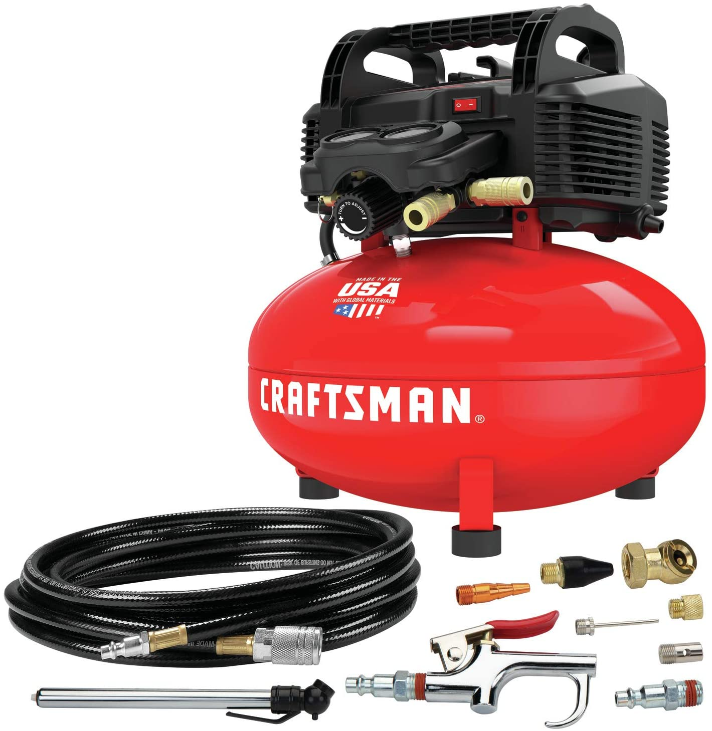 CRAFTSMAN Air Compressor with 13 Piece Accessory Kit