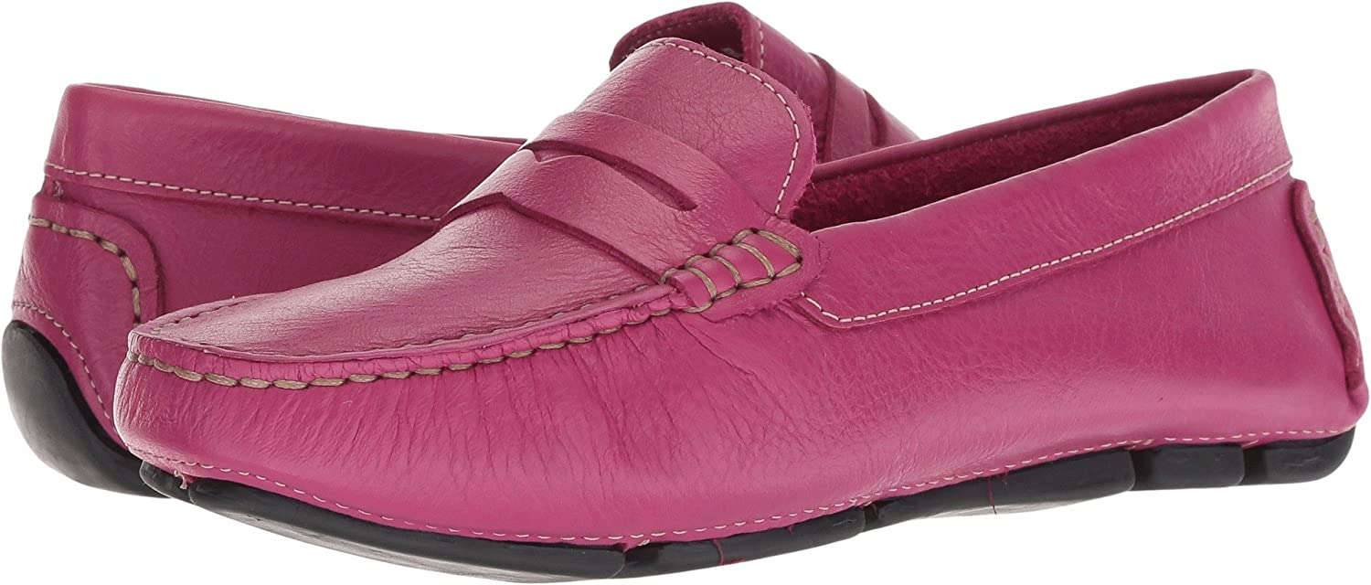 Massimo Matteo Womens Penny Keeper B07BJLQ173 11 B(M) US|Magenta Denver Leather