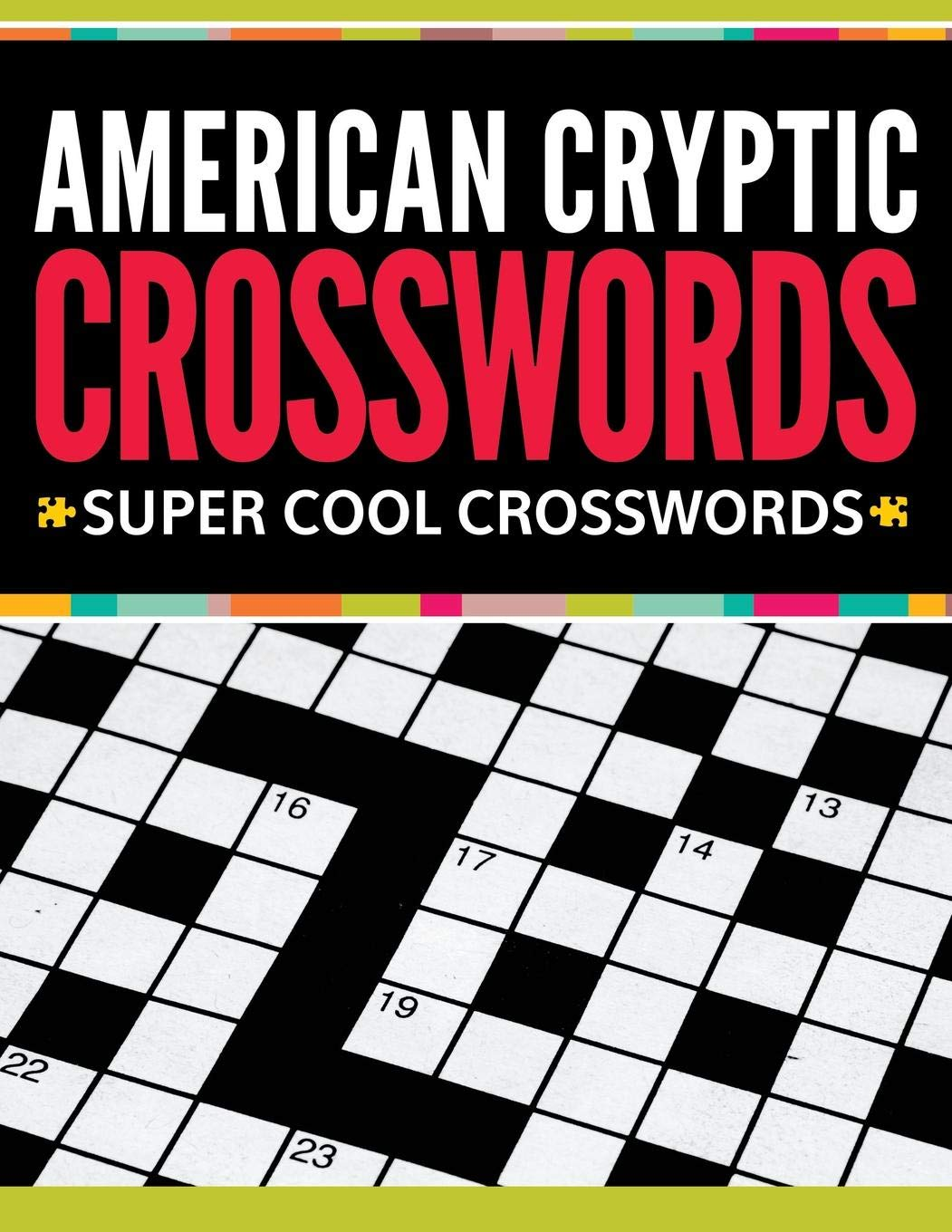 picture regarding Cryptic Crosswords Printable named American Cryptic Crosswords: Tremendous Great Crosswords: Instant