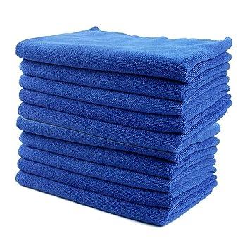 Yinglite 4PCS 30 x 70cm Bayeta de microfibra limpieza toallas de lavado de coches absorbente Coche