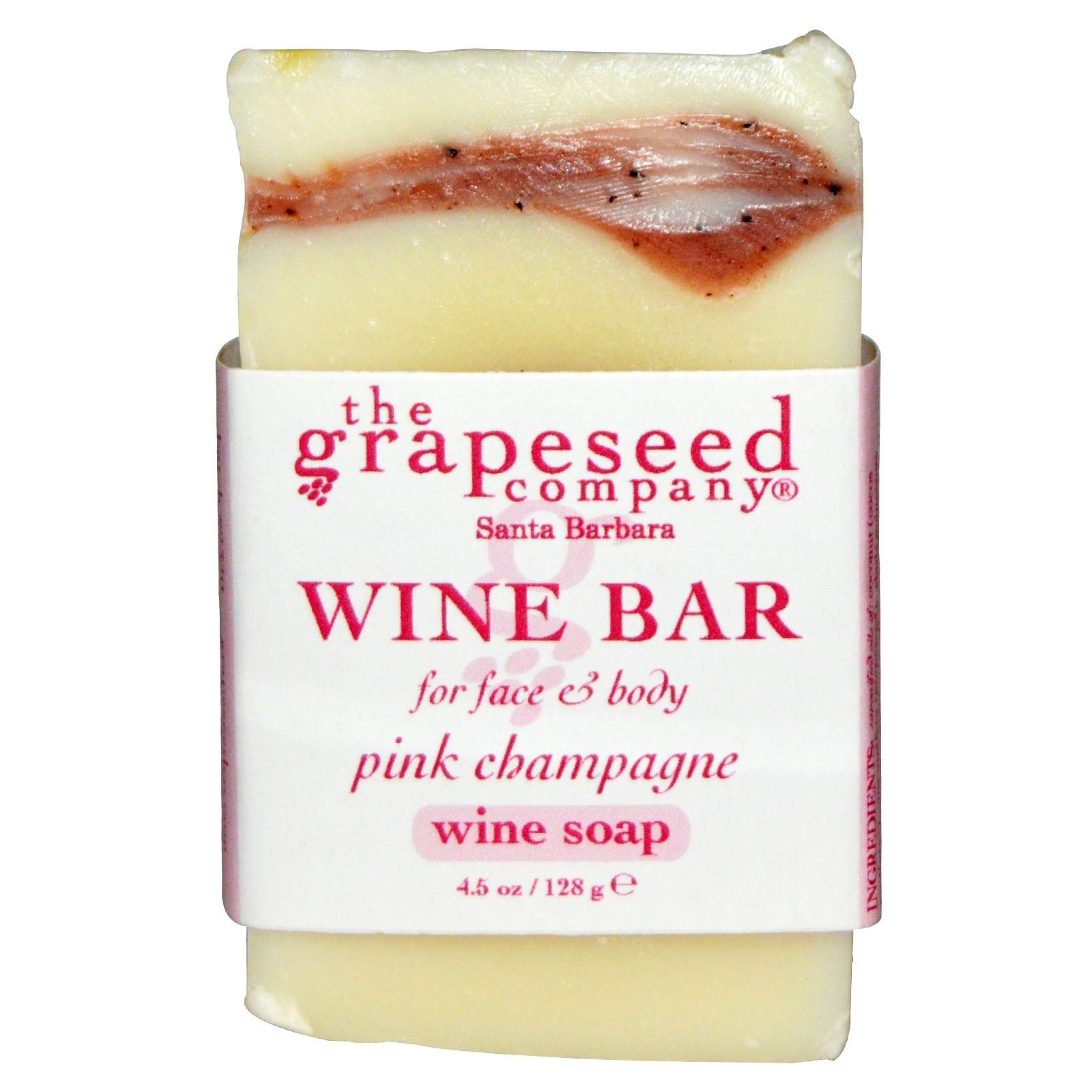 Soap - Wine Bar Soap Pink Champagne By the Grapeseed Co