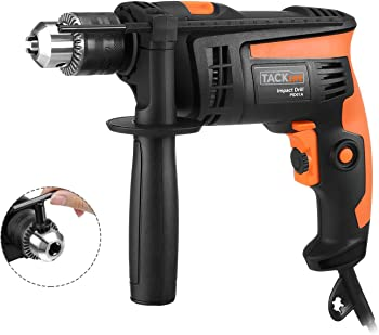 Tacklife 6-amp Variable-Speed Hammer Drill