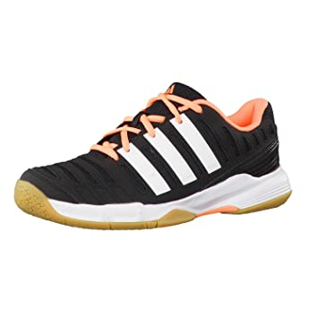 cheap for discount 190c7 61bbb adidas Performance Womens Handball Shoes - Neroarancio, womens, Nero -  core blackftwr whiteflash orange s15, 46 Amazon.co.uk Sports  Outdoors