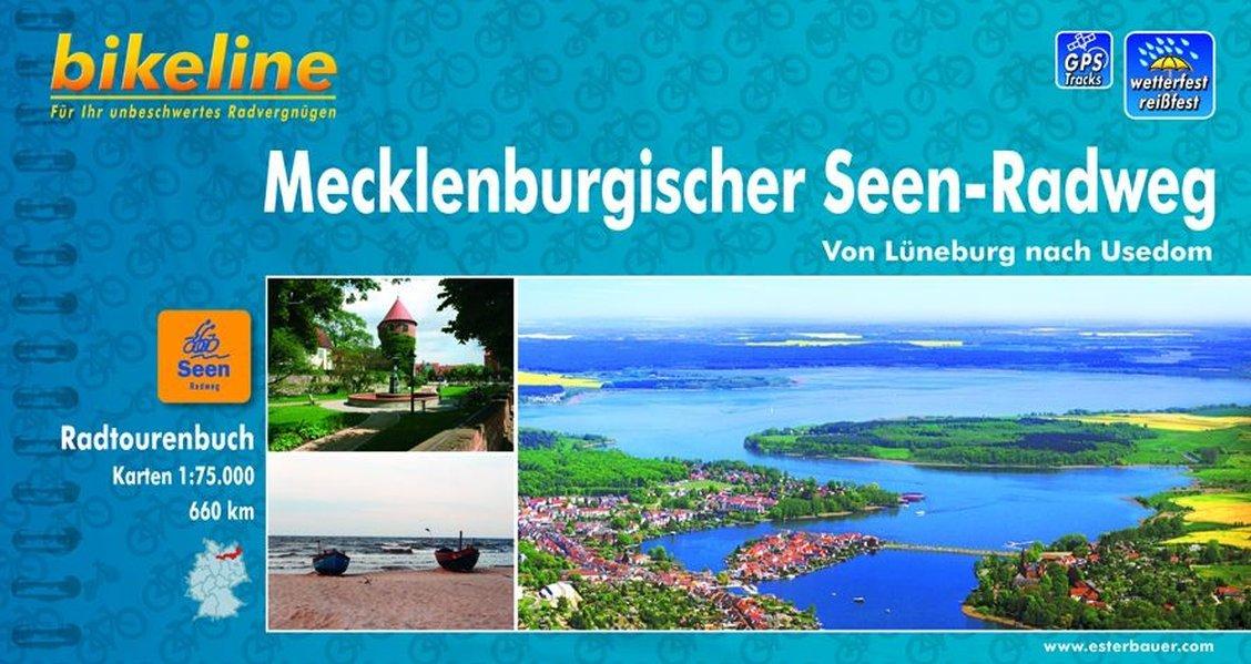 Radweg Mecklenburgische Seenplatte Karte.Bikeline Radtourenbuch Mecklenburgischer Seen Radweg Von Lüneburg