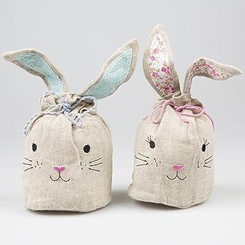 Easter bunny mini candy gift bag egg hunt bags x 2 sass and belle easter bunny mini candy gift bag egg hunt bags x 2 sass and belle amazon kitchen home negle Choice Image