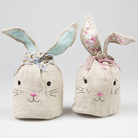 Easter bunny mini candy gift bag egg hunt bags x 2 sass and belle easter bunny mini candy gift bag egg hunt bags x 2 sass and belle negle Image collections