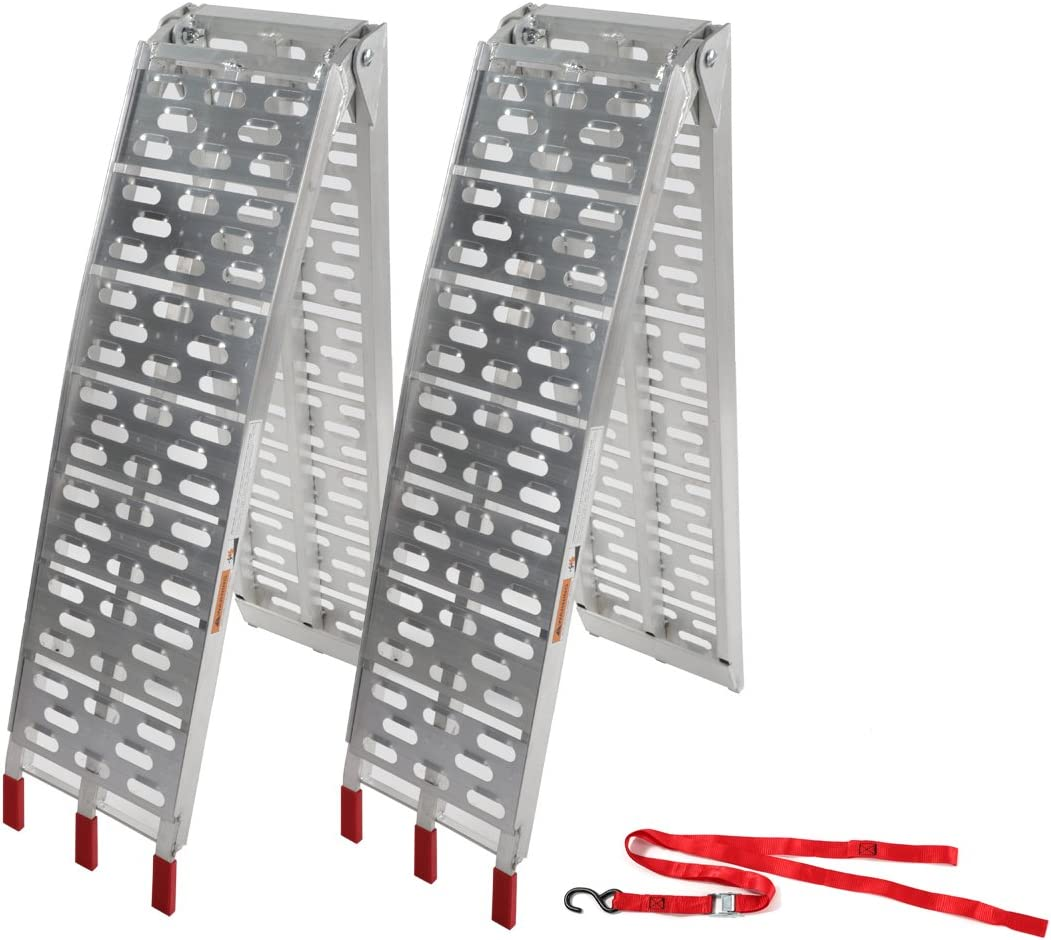 Motorhot Aluminum Folding Loading Ramps