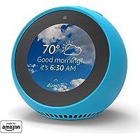 Mission - Custodia in Silicone per Amazon Echo Spot, Blu (Bahama Blue)