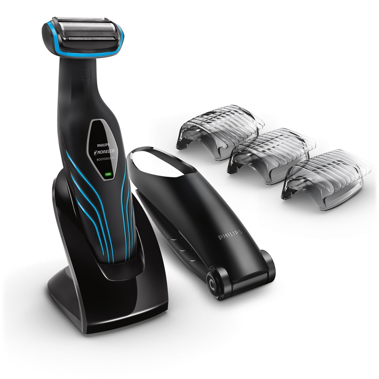 Philips Norelco Bodygroom Series 3100, Shave and trim with back attachment, BG2034 by Philips Norelco (Image #1)