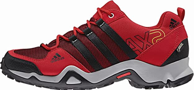 adidas AX2 Gore-Tex – Zapatos de Senderismo, Rojo y Negro: Amazon ...