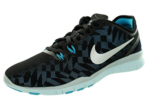 new product fe10b dfbba Nike Free 5.0 Tr Fit 5 Metallic Womens Cross Training Shoes Blk Mtllc  Slvr Bl Lgn Glcr Bl 5.5 B(M) US  Buy Online at Low Prices in India -  Amazon.in