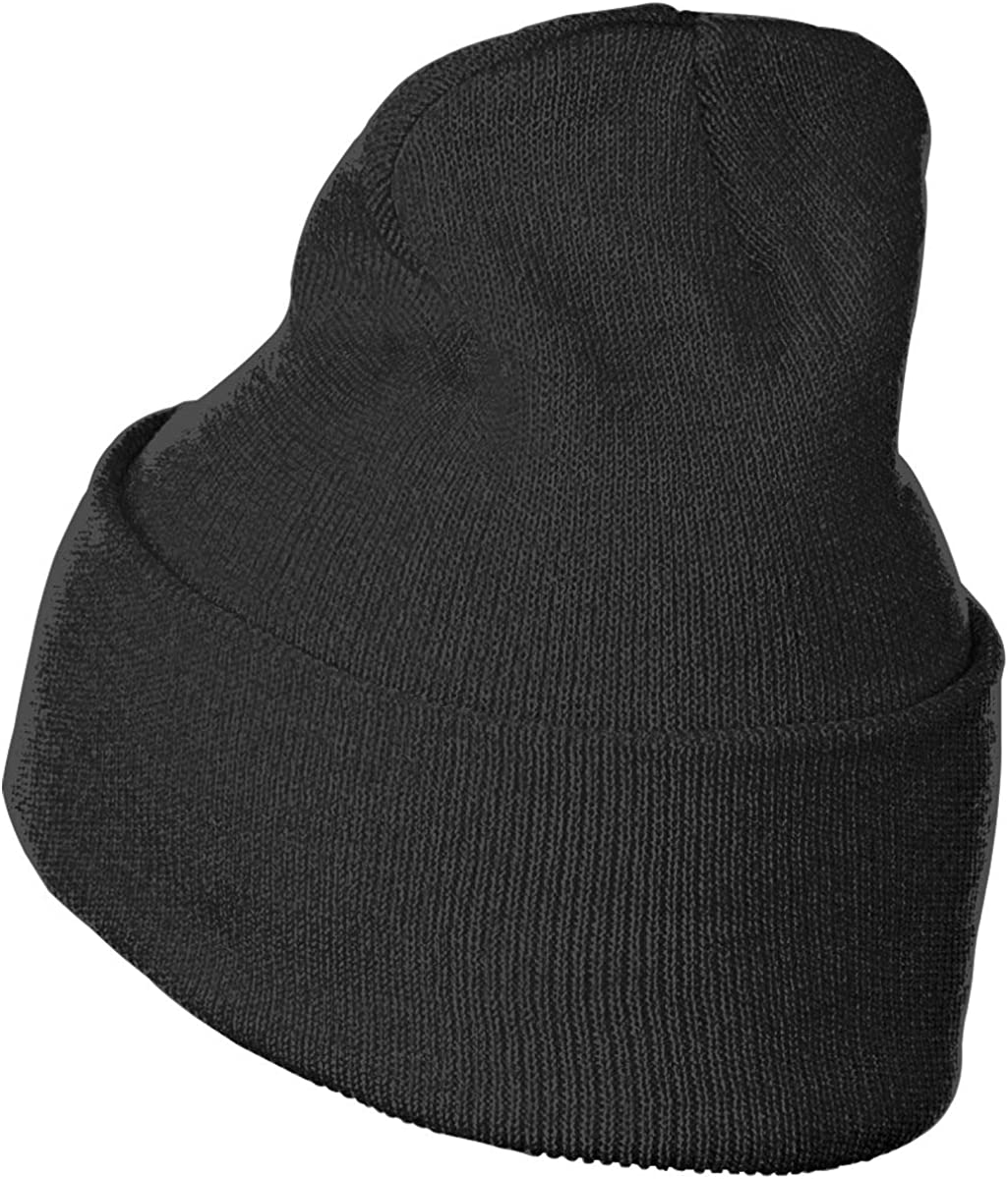 April Fools Day Hat for Men and Women Winter Warm Hats Knit Slouchy Thick Skull Cap