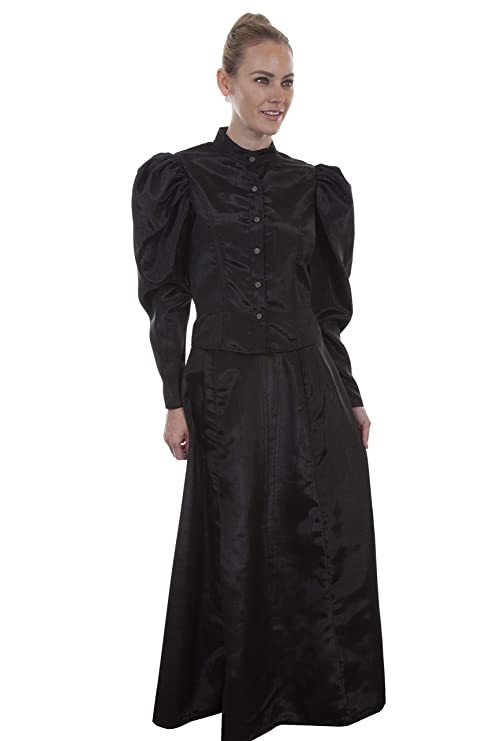 Steampunk Tops | Blouses, Shirts Scully Wahmaker Womens Classic Old West Blouse - 738809-Nat $66.24 AT vintagedancer.com