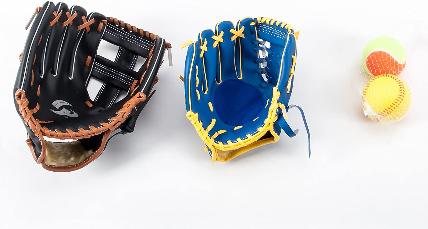 GP Parent-Child Catchball Glove Set for Soft Ball Adult Right Child Left
