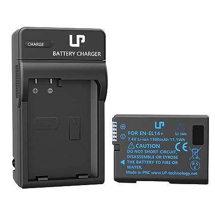 amazon com lp en el14 en el14a battery charger set, compatiblelp en el14 en el14a battery charger set, compatible with nikon d3100, d3200
