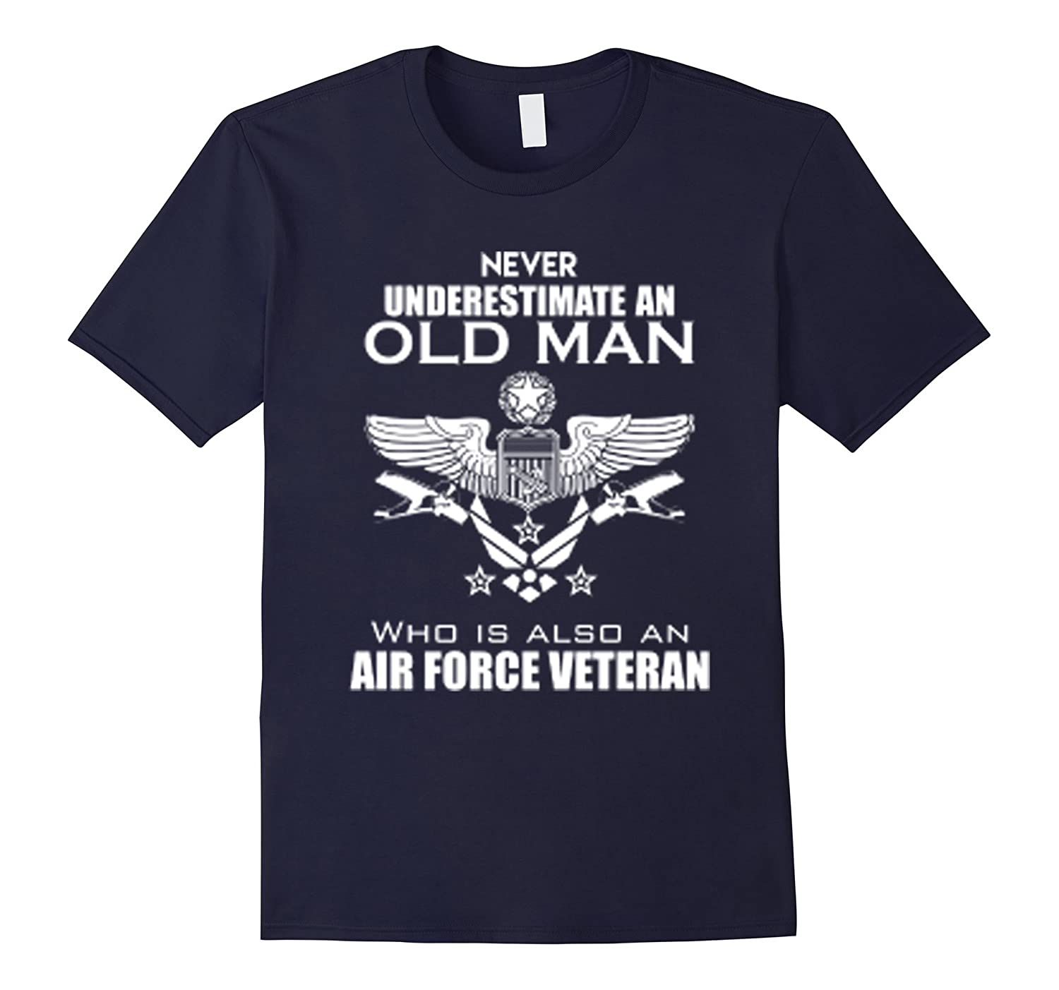 Never underestimate an old man who is also an air force vet-TD