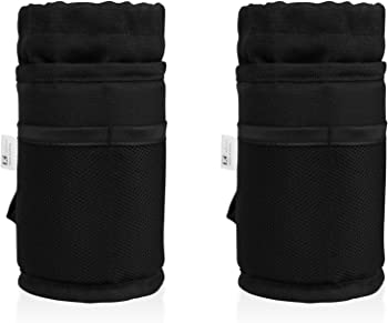 2-Pack Tiekoun Bike Water Bottle Holder Bag