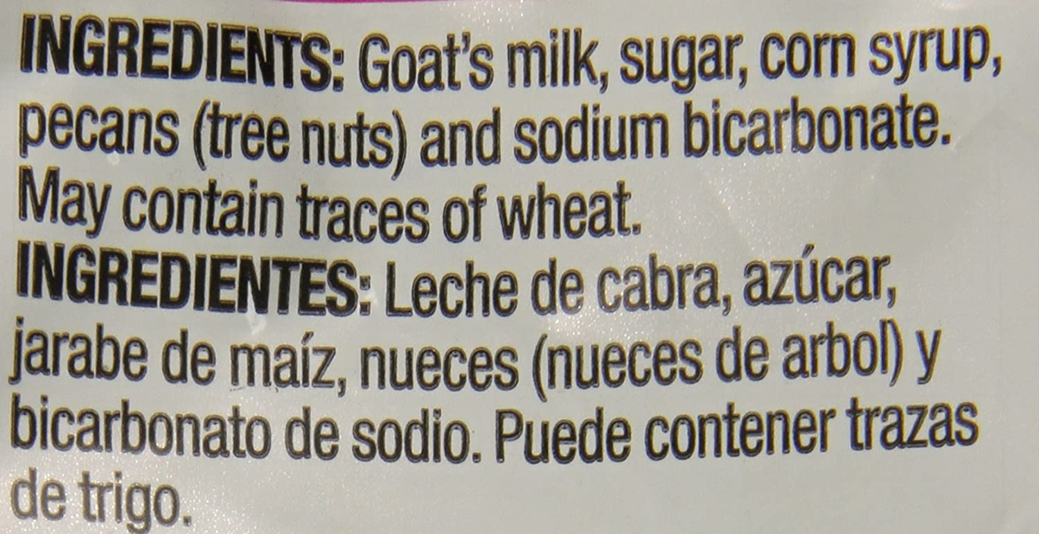 Amazon.com : Glorias Goat Milk and Pecan Candy, 5 ct, 5.2 oz (Pack Of 2) : Grocery & Gourmet Food