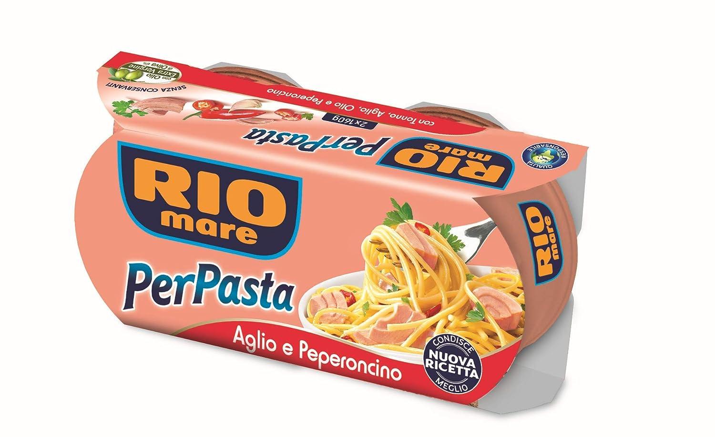 Rio Mare per Pasta - Aglio peperoncino 2 x 160gr
