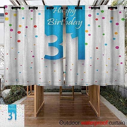 Amazon.com: AndyTours - Cortinas para dormitorio, 25 ...