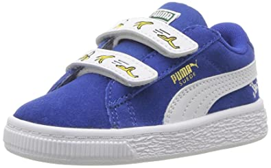 916d431281 PUMA Minions Suede Velcro Kids Sneaker: Buy Online at Low Prices in ...