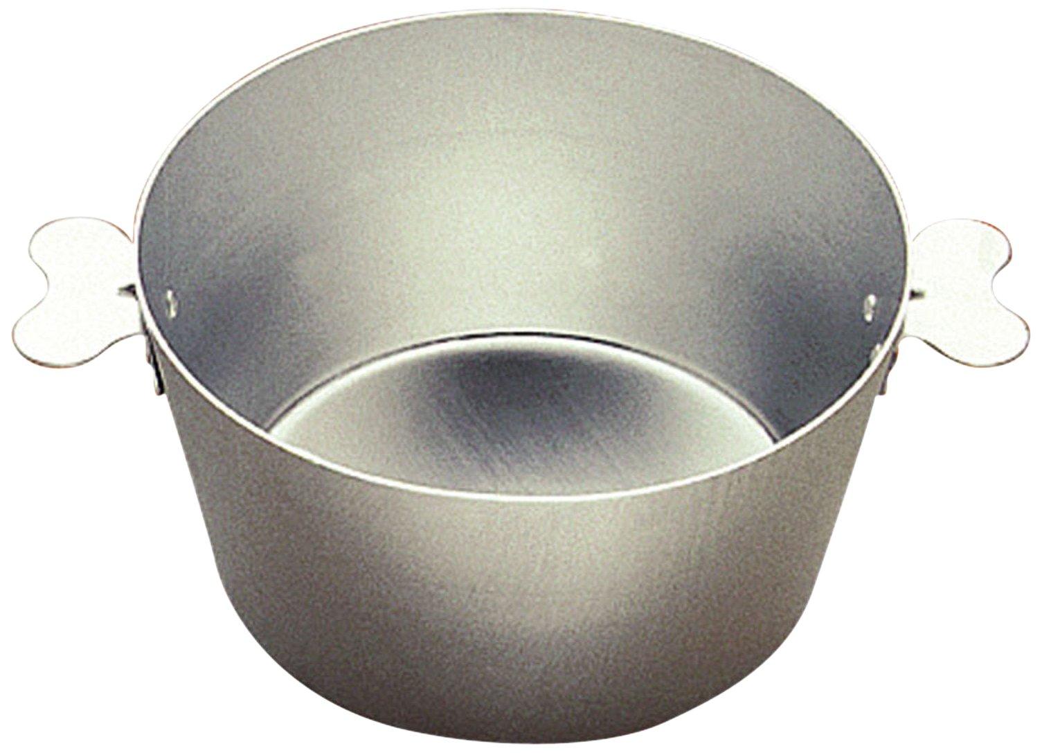 Gobel France Tinned Steel Paderno World Cuisine Charlotte Mold, Gray