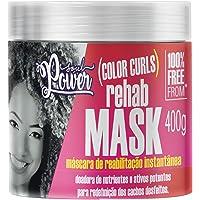 Máscara de Reabilitação Color Curls Rehab Mask, Soul Power