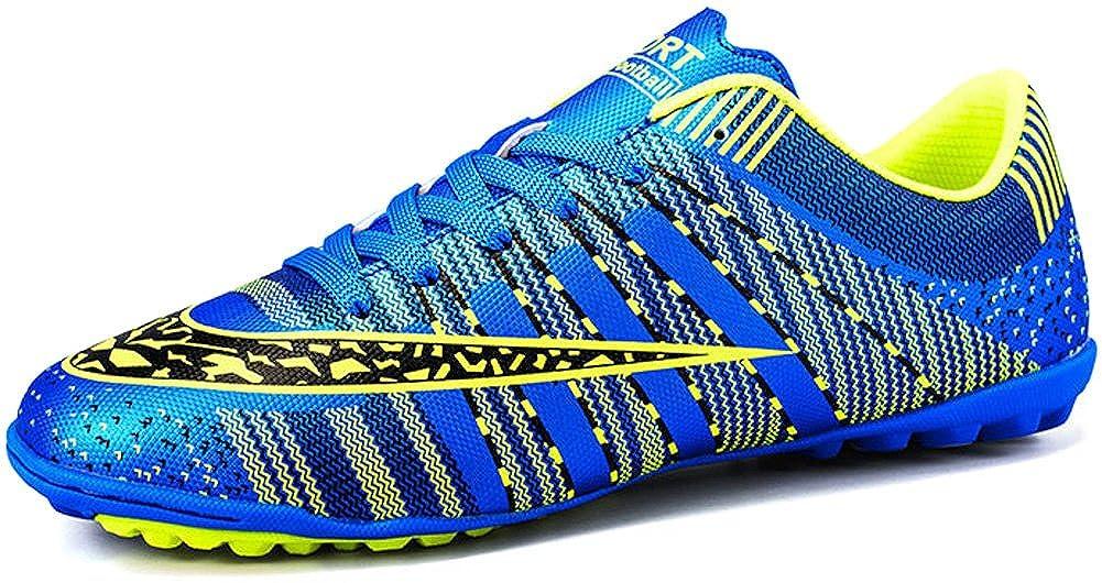bluee JiYe Pro-Sports Women's Men's Jogging Walking Riding Running shoes Racquet,Fashion Sneskers,Soccer shoes