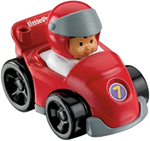 Fisher-Price Little People Wheelies Race Car