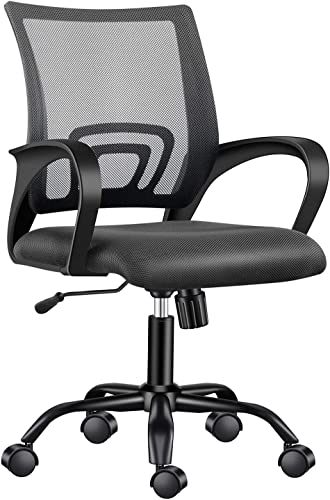 LUXMOD Mid-Back Mesh Office Chair