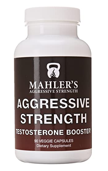 Amazon Com Mahler S Aggressive Strength Testosterone Booster 90