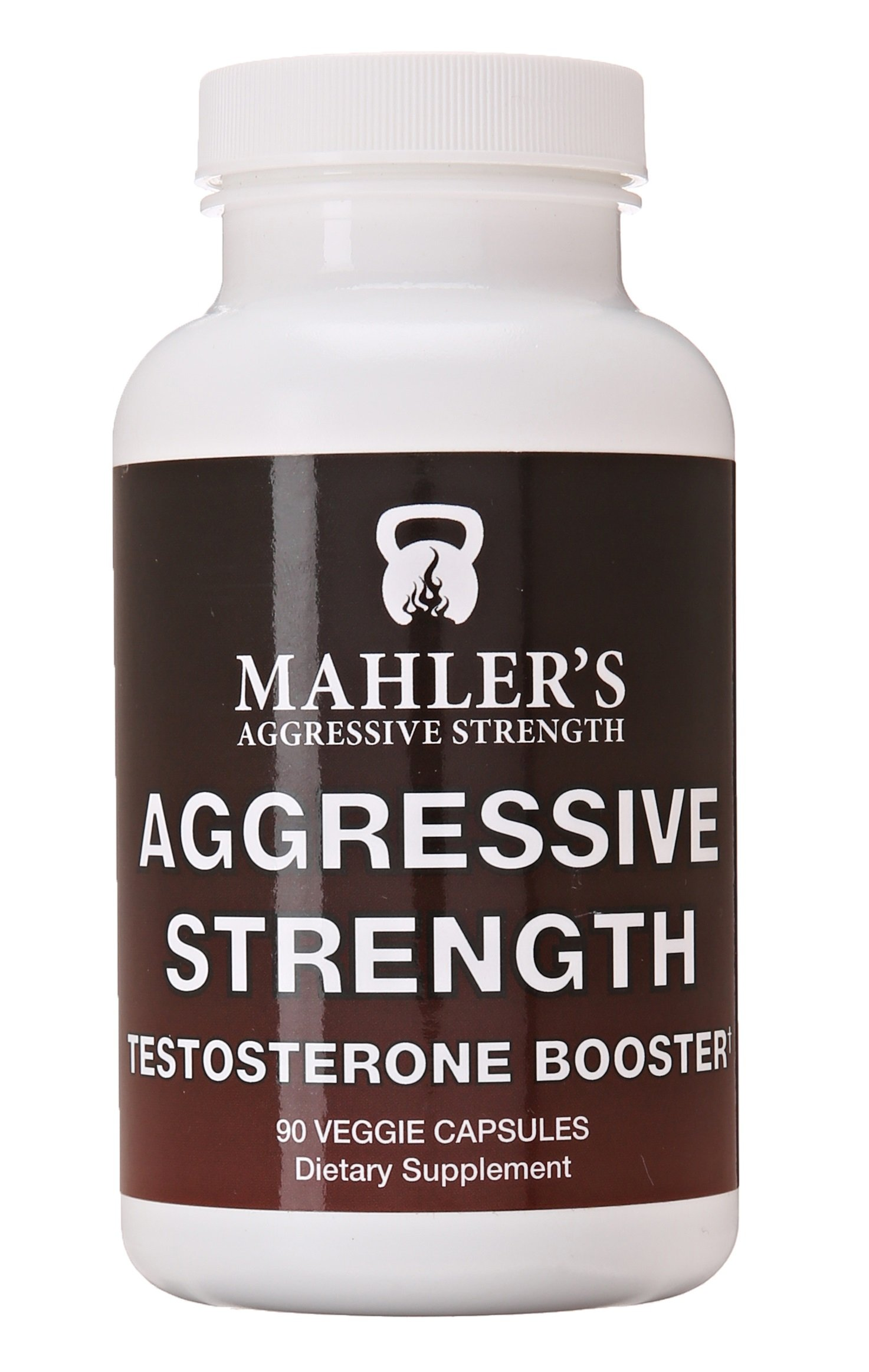 Mahler's Aggressive Strength Testosterone Booster, 90 capsules, 6 Week Supply by Mahler's Aggressive Strength (Image #1)