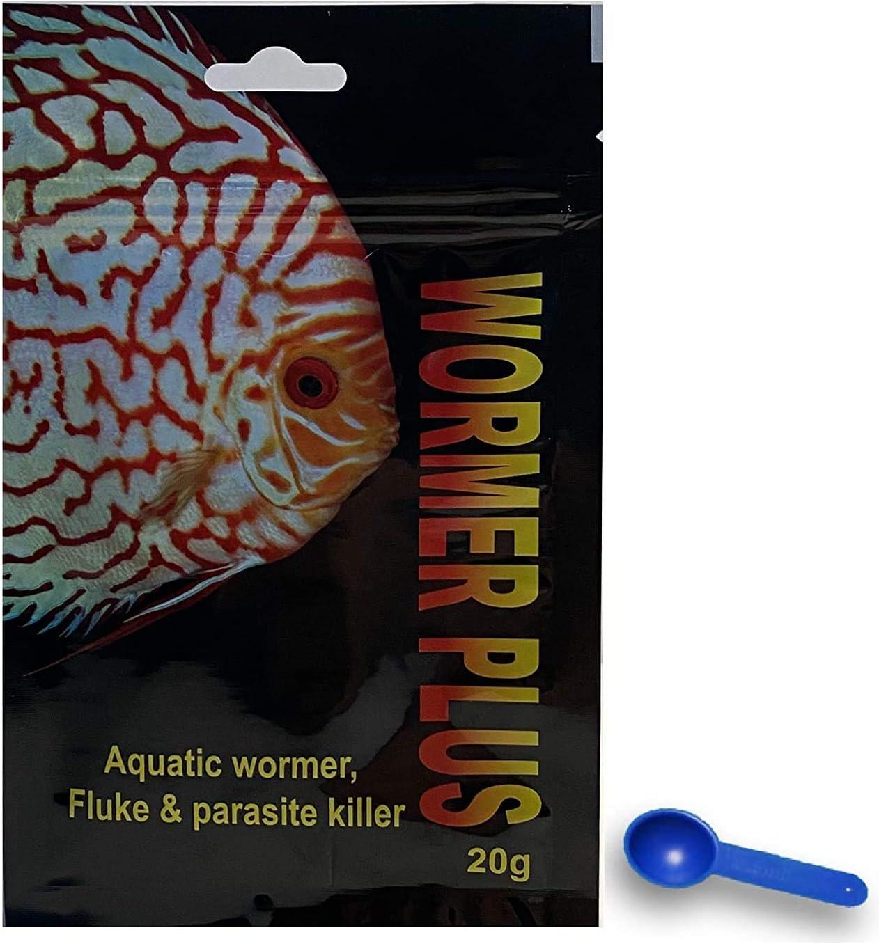 Wormer Plus - Anti-Parasitic Fish Medication - Flubendazole for Fish with parasites and Flukes