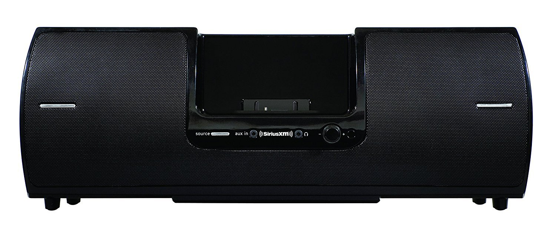 SiriusXM SXSD2 Portable Speaker Dock Audio System for Dock and Play Radios (Black) by SiriusXM