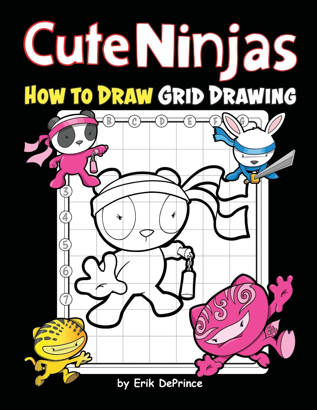 Cute Ninjas How To Draw Grid Drawing: Cute Ninjas Grid ...