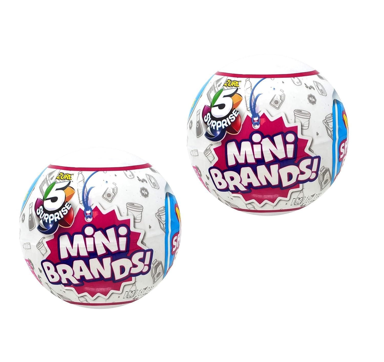 Amazoncom 5 Surprise Mini Brands Collectible Capsule Ball By Zuru
