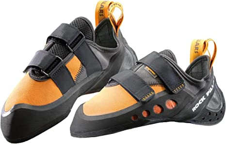 Zapato de escalada Zerocks, color - naranja, tamaño UK 3,5/EU 36,0: Amazon.es: Deportes y aire libre