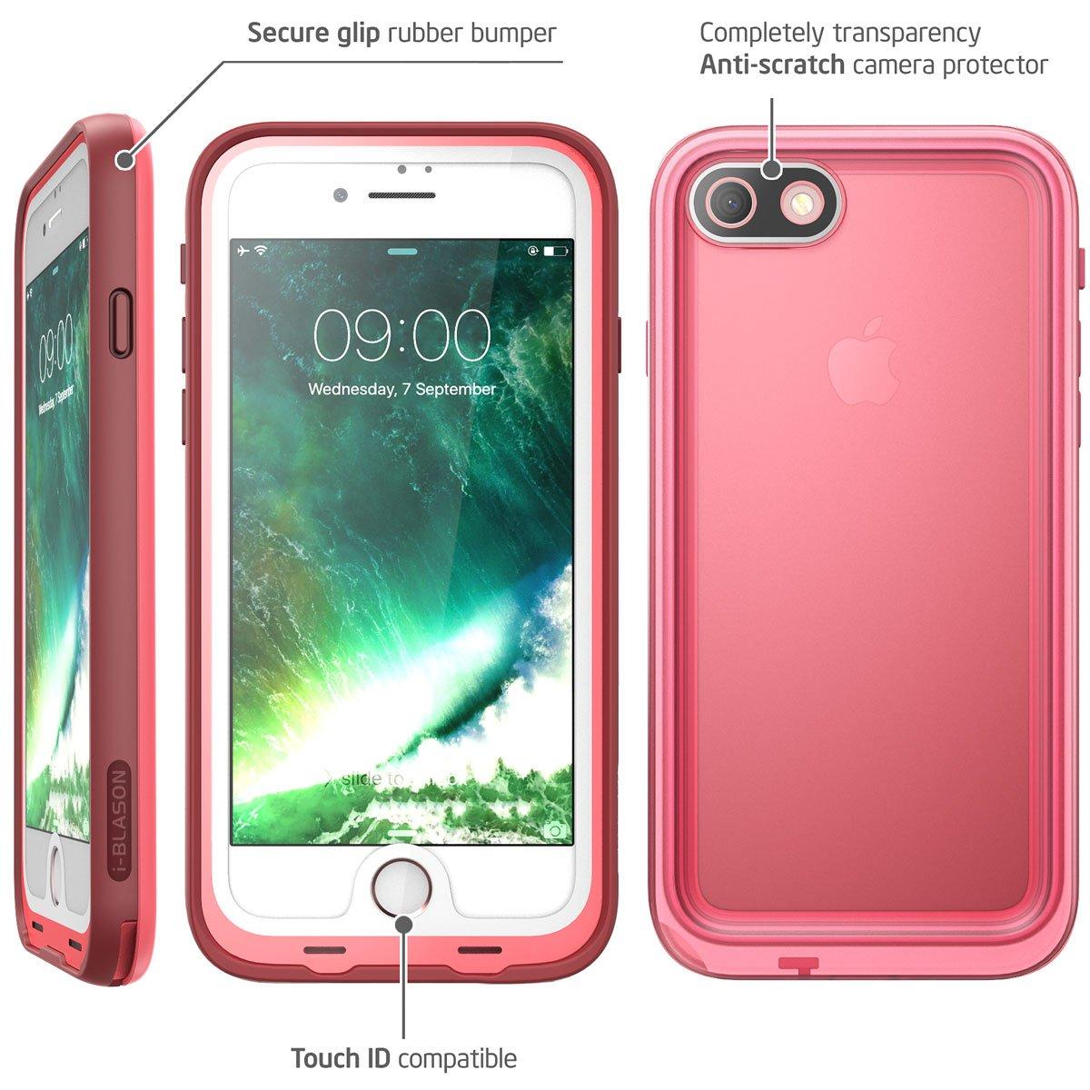 44a18e5117ed3 iPhone 8 Case, i-Blason [Aegis] Waterproof Full-body Rugged Case ...