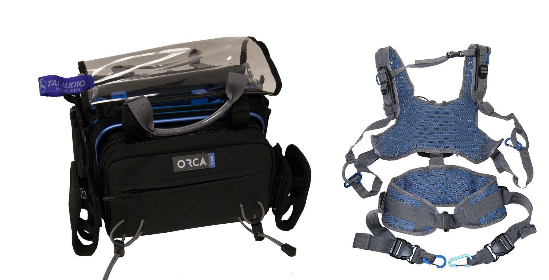Orca OR-34 Audio Bag & Orca OR-40 Harness