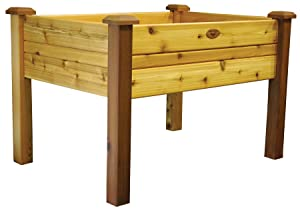 Gronomics EGB 34-48S Elevated Garden Bed, 34-Inch by 48-Inch by 32-Inch, Finished
