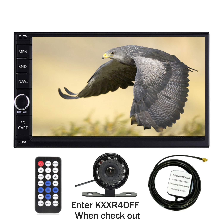 KKXXX S6 Android 2 DIN Car Stereo 1 GB de RAM 16 GB ROM Quad Core GPS de navegació n Radio Auto Am/FM Mirror Link Control de Volante BT Manos Libres Call Music Video 1080P HD Touch Screen