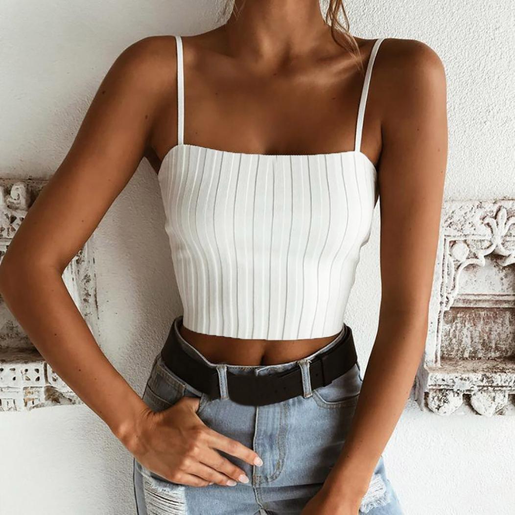 873df2889d7b6 🍒 Women Tube Tops ODGear Sleeveless Elastic Boob Bandeau Bra Lingerie  Adjustable Straps Camisoles Tank Tops at Amazon Women's Clothing store: