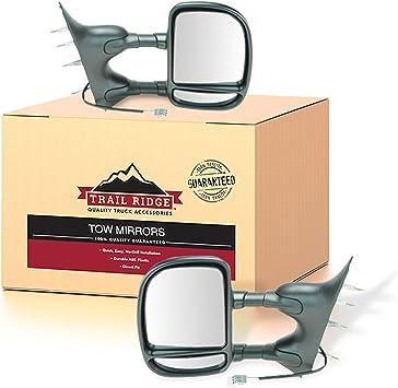 Trail Ridge Manual Telescoping Mirror Driver LH Left for Ford Van Econoline E250