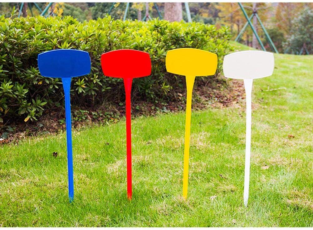Yardwe 10 Piezas Etiquetas de Jardín de Plástico Etiquetas de ...