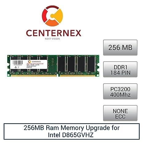 Intel d865gvhz motherboard w/ fan/heatsink, i/o panel, cpu & 512mb.