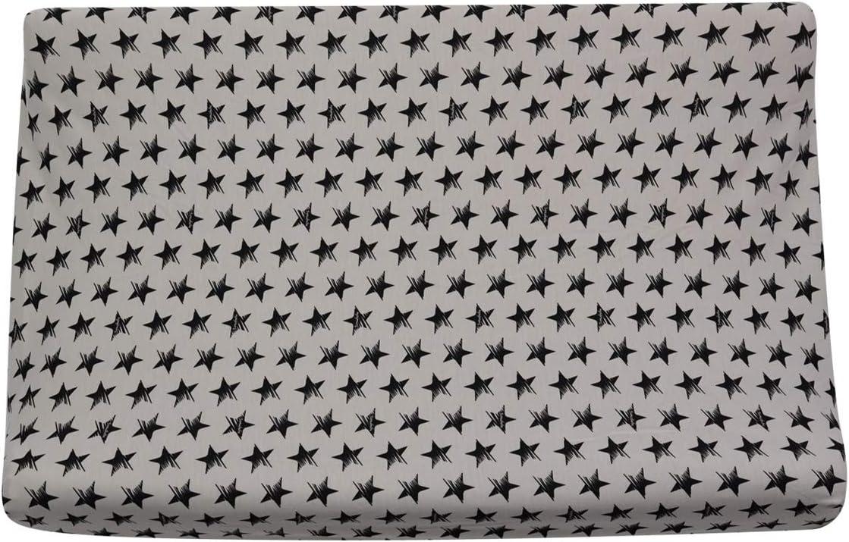 BLACK SERIES, 70 X 50 CM JANABEBE Lenzuola per fasciatoio per bambino