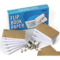 Blank Flip Book Paper with Holes - 720 Sheets (1480 Pages) Flipbook Animation Paper : Works with Flip Book Kit Light…