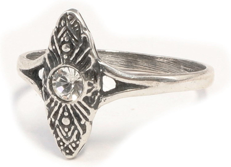 Art Deco Mehrfachauswahl Dein Edelstein 925 Sterling Silber Frauen Ewigkeitsring