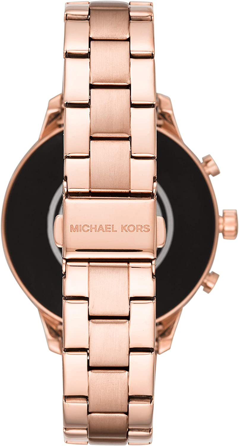 Amazon.com: Michael Kors Womens Access Runway Stainless ...